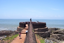 kannur fort st angelo fort